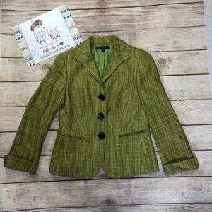 Lafayette 148 Spring Tweed Blazer